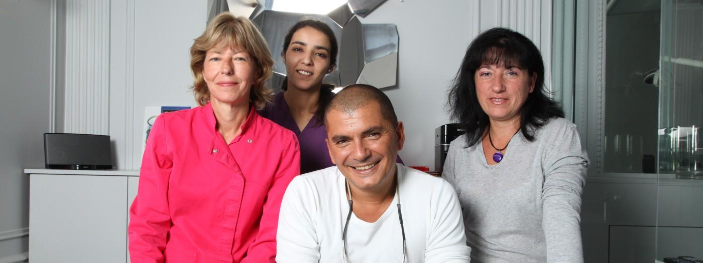 Equipe du cabinet dentaire - Dentiste Paris 16